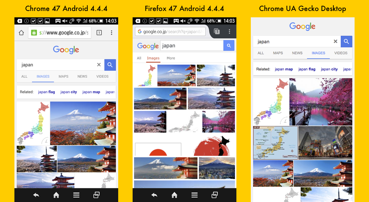 Accessing Google image