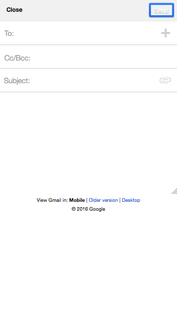 gmail screenshot border