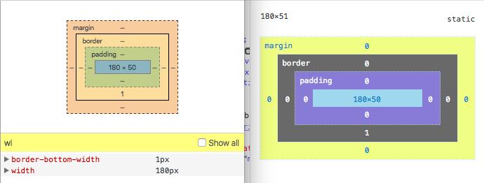 li width in CSS
